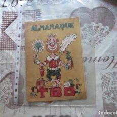 Tebeos: ALMANAQUE TBO 1945 1,2 PTS CON RECORTABLE BELEN. Lote 175859114