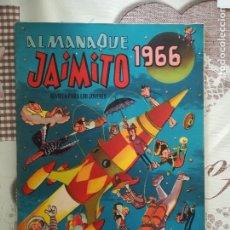 Tebeos: JAIMITO ALMANAQUE 1966. Lote 176844043