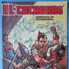 Tebeos: EL CACHORRO - ALMANAQUE PARA 1957 - AVENTURA EN NOCHEBUENA - FACSIMIL. Lote 177758168