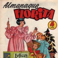 Tebeos: ALMANAQUE FLORITA PARA 1955. Lote 178151469