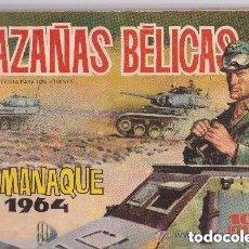 Tebeos: HAZAÑAS BELICAS ALMANAQUE 1964. Lote 178285372