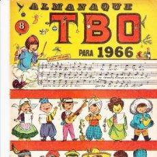 Tebeos: ALMANAQUE HUMORISTICO 1966. Lote 178286353