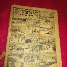 Tebeos: ALMANAQUE DE TBO PARA 1936 . Lote 178387877