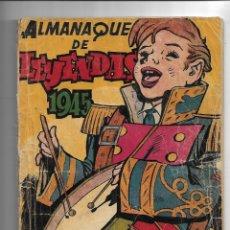Tebeos: ALMANAQUE DE LEYENDAS AÑO 1945 ES ORIGINAL DIBUJOS DE G. IRANZO CONTIENE 100 PÁGINAS. Lote 178647921