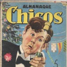 Tebeos: ALMANAQUE CHICOS AÑO 1947 ES ORIGINAL DIBUJANTES EMILIO FREIXAS Y JESUS BLASCO CONTIENE 68 PÁGINAS. Lote 178655211