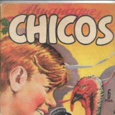 Tebeos: ALMANAQUE CHICOS AÑO 1949 ES ORIGINAL DIBUJANTES EMILIO FREIXAS Y JESUS BLASCO CONTIENE 84 PÁGINAS. Lote 178656601