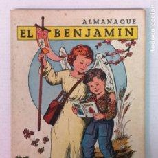 Tebeos: ALMANAQUE DEL BENJAMIN 1957 CON RECORTABLE. Lote 182169942