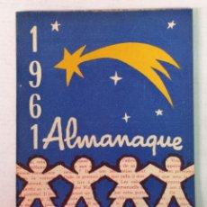 Tebeos: ALMANAQUE DEL BENJAMIN 1961 CON RECORTABLE. Lote 182173121