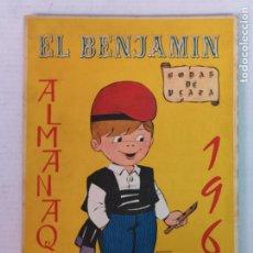 Tebeos: ALMANAQUE DEL BENJAMIN 1965 CON RECORTABLE. Lote 182173781