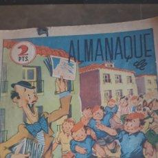 Tebeos: ALMANAQUE FLECHAS Y PELAYOS 1941.. Lote 182355127