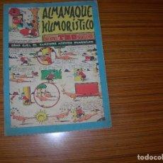 Tebeos: ALMANAQUE HUMORISTICO DE TBO PARA 1956 EDITA BUIGAS . Lote 182617891