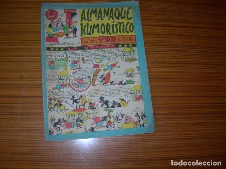 ALMANAQUE HUMORISTICO DE TBO PARA 1954 EDITA BUIGAS (Tebeos y Comics - Tebeos Almanaques)