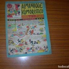 Tebeos: ALMANAQUE HUMORISTICO DE TBO PARA 1954 EDITA BUIGAS . Lote 182620585
