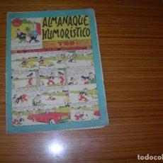 Tebeos: ALMANAQUE HUMORISTICO DE TBO PARA 1962 EDITA BUIGAS . Lote 182620813