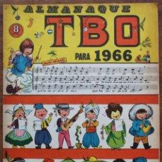 Tebeos: ALMANAQUE TBO 1966. Lote 182969965