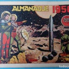 Tebeos: ALMANAQUE EL MUNDO FUTURO 1956 ORIGINAL , CT1. Lote 183609822