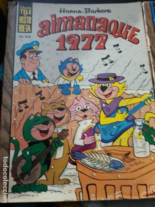 Tebeos: dos comics Coleccion Tele Historieta Hanna Barbera. Almanaque 1977 y n 108. - Foto 2 - 183610138