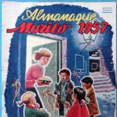Tebeos: ALMANAQUE MARILO 1957 ORIGINAL , CT1. Lote 183612262
