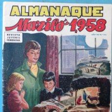 Tebeos: ALMANAQUE MARILO 1958 ORIGINAL , CT1. Lote 183612361