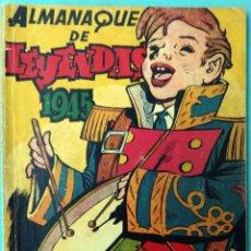Tebeos: ALMANAQUE DE LEYENDAS 1945 ORIGINAL , CT1. Lote 183612470