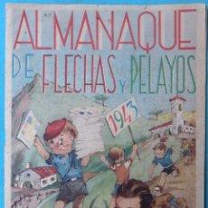 Tebeos: ALMANAQUE FLECHAS Y PELAYO 1943 ORIGINAL , CT1. Lote 183612637