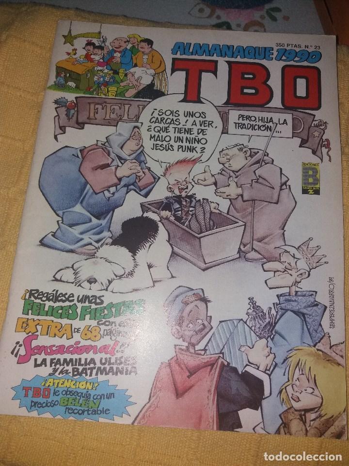 TBO.ALMANAQUE 1990.NUMERO 23.EDICIONES B. (Tebeos y Comics - Tebeos Almanaques)
