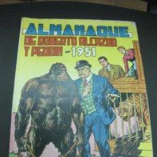Tebeos: ALMANAQUE DE ROBERTO ALCAZAR Y PEDRIN 1951.. Lote 185789162