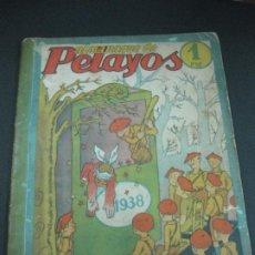 Tebeos: ALMANAQUE DE PELAYOS 1938. . Lote 185877856