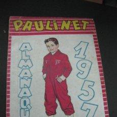 Tebeos: PAULINET Nº 1. ALMANAQUE 1951. PUBLICACIONES RADIALES.. Lote 185878550