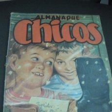 Tebeos: ALMANAQUE CHICOS 1950. . Lote 186128296