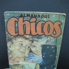 Tebeos: ALMANAQUE CHICOS 1950. . Lote 186128325