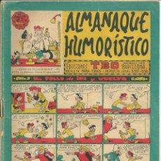 Tebeos: COMIC ALMANAQUE HUMORISTICO TBO DE 1963. Lote 191266452