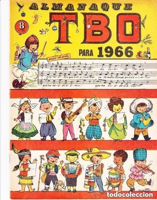 TBO -ALMANAQUE HUMORISTICO 1966 (Tebeos y Comics - Tebeos Almanaques)