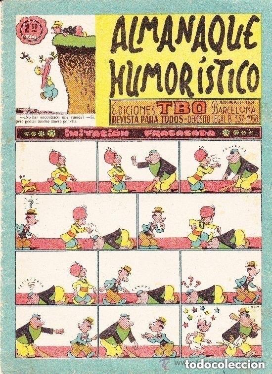 TBO -ALMANAQUE HUMORISTICO 1959 (Tebeos y Comics - Tebeos Almanaques)