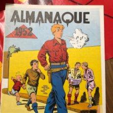 Tebeos: CHISPITA ALMANAQUE 1952. Lote 191363538