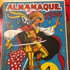 Tebeos: ALMANAQUE 1956. Lote 191363730