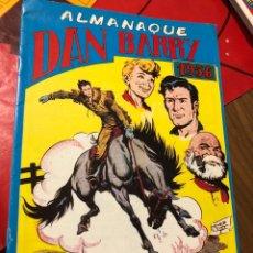 Tebeos: DAN BARRY ALMANAQUE 1956. Lote 191364522