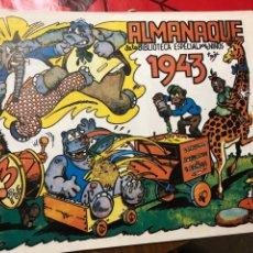 Tebeos: ALMANAQUE DE LA BIBLIOTECA ESPECIAL PARA NIÑOS 1943. Lote 191364853