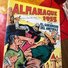 Tebeos: EL GUERRERO DEL ANTIFAZ ALMANAQUE 1955. Lote 191364955