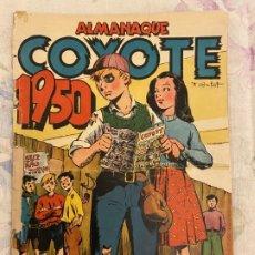 Tebeos: COYOTE ALMANAQUE 1950 . Lote 191545383