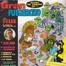 Tebeos: COMIC COLECCION GRAN PULGARCITO EXTRA DE VERANO 1970. Lote 191570371