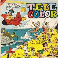 Tebeos: COMIC COLECCION TELE COLOR EXTRA DE VERANO 1963. Lote 191570925