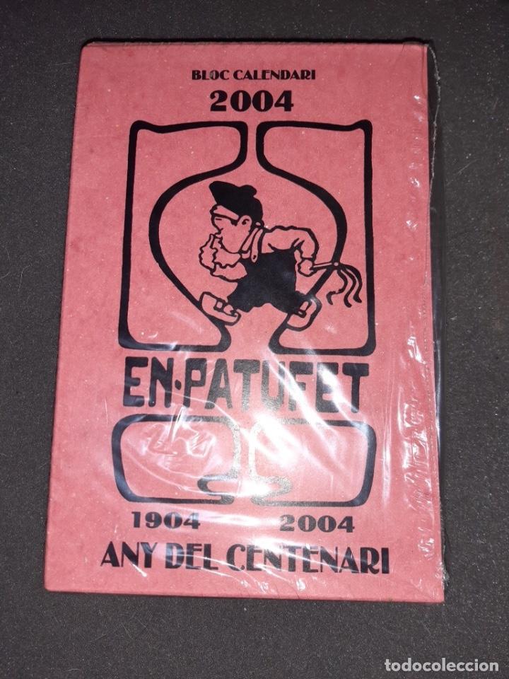 EN PATUFET . BLOC CALENDARI ANY CENTENARI ( 1904 - 2004 ) J.M.FOLCH I TORRES (Tebeos y Comics - Tebeos Almanaques)