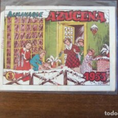 Livros de Banda Desenhada: TORAY,- AZUCENA ALMANAQUE 1953 . Lote 192584662
