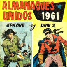 Livros de Banda Desenhada: ALMANAQUES UNIDOS 1961: APACHE Y DON Z (MAGA). Lote 192875093