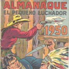 Tebeos: ALMANAQUE 1956 PEQUEÑO LUCHADOR. MANUEL GAGO (OTRA GRAN OBRA DEL AUTOR DEL GUERRERO DEL ANTIFAZ) . Lote 192928873