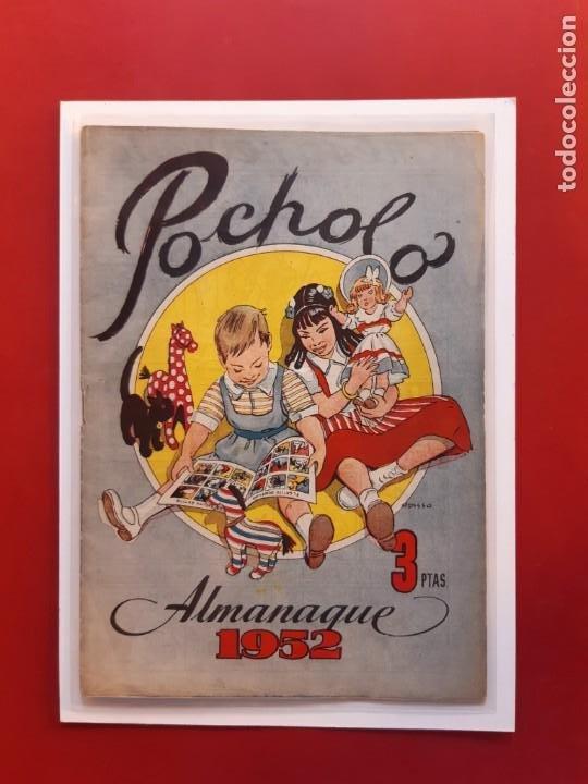 POCHOLO ALMANAQUE 1953 ORIGINAL IMPECABLE ESTADO VER FOTOGRAFIAS (Tebeos y Comics - Tebeos Almanaques)