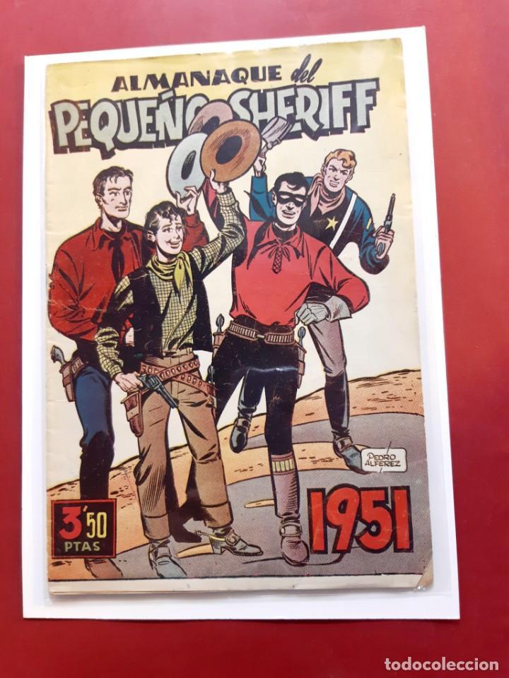 EL PEQUEÑO CHERIFF-1951 -ORIGINAL-EXCELENTE ESTADO-VER FOTOS (Tebeos y Comics - Tebeos Almanaques)