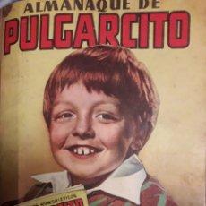 Tebeos: COMIC ALMANAQUE DE PULGARCITO 1951. Lote 194164016