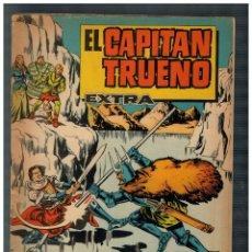 Tebeos: EL CAPITÁN TRUENO EXTRA. ALMANAQUE PARA 1963.. BRUGUERA. ORIGINAL.. Lote 194349465